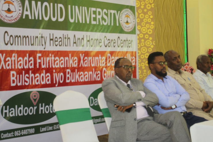 Amoud Main Community  Health And Home Care Center Opening Ceremony